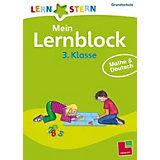 Lernstern Mein Lernblock 3. Klasse: Mathe & Deutsch