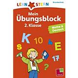 Lernstern Mein Übungsblock 2. Klasse, Mathe & Deutsch