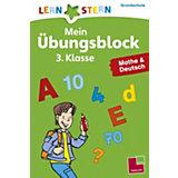 Lernstern Mein Übungsblock 3. Klasse, Mathe & Deutsch