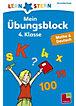 Lernstern Mein Übungsblock 4. Klasse, Mathe & Deutsch