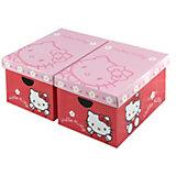 Aufbewahrungsboxen, Hello Kitty, 2er-Set