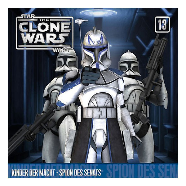 CD Star Wars - The Clone Wars 13 - Kinder der Macht, Spion des Senats