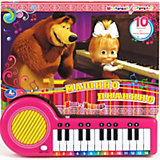 "Книга-пианино ""Машино пианино"", Маша и Медведь"