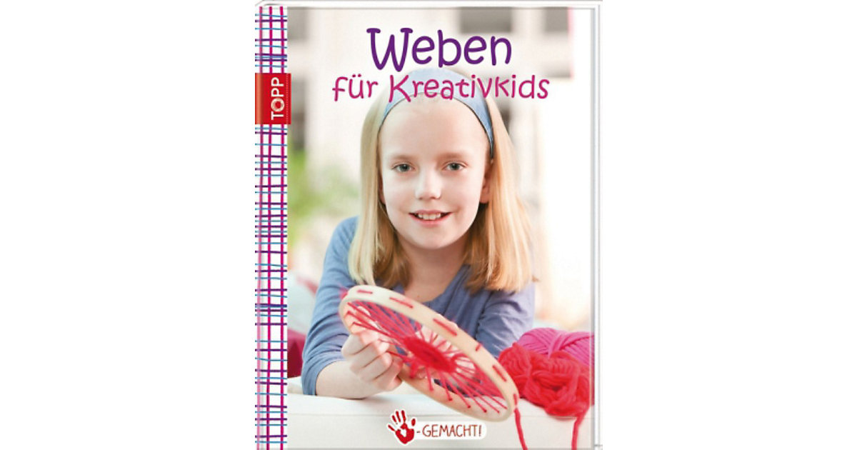 Buch - Weben Kreativkids Kinder