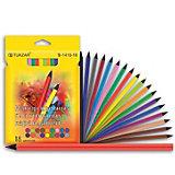 TUKZAR Набор цветных карандашей, 18 цветов