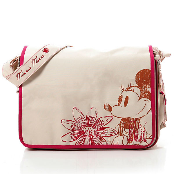 Wickeltasche Minnie, Flower