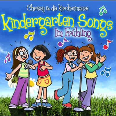 CD Chrissy & die Kirchenmäuse - Kindergarten Songs-Im