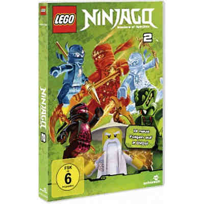 dvd lego ninjago staffel 2 folgen 14 26 auf 2dvds lego. Black Bedroom Furniture Sets. Home Design Ideas