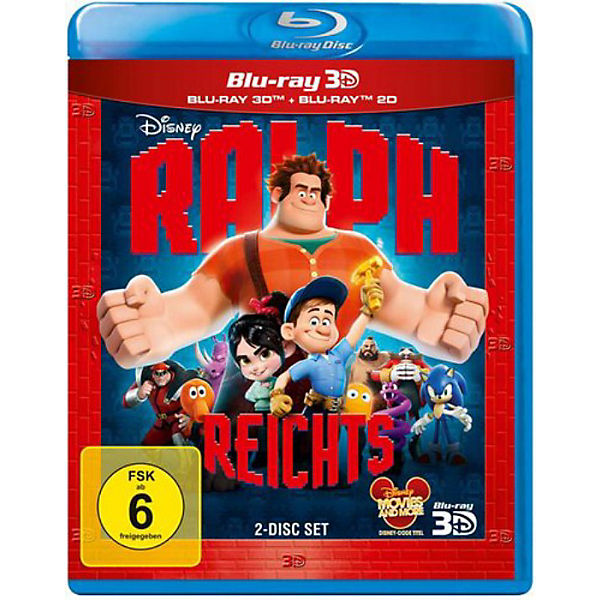 BLU-RAY Disney's - Ralph reichts (+ 3D Version)