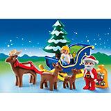 PLAYMOBIL® 6787 1-2-3: Weihnachtsmann mit Rentierschlitten