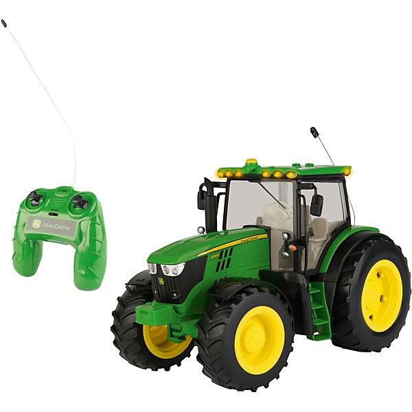 britains john deere r c traktor 6150r 1 16 mit licht. Black Bedroom Furniture Sets. Home Design Ideas
