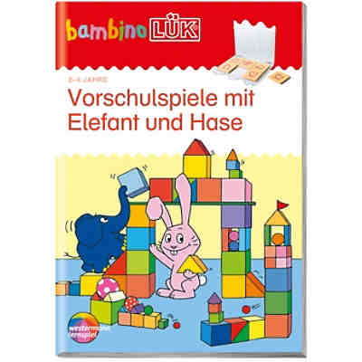 bambino l k vorschulspiele mit elefant und hase bambinol k mytoys. Black Bedroom Furniture Sets. Home Design Ideas