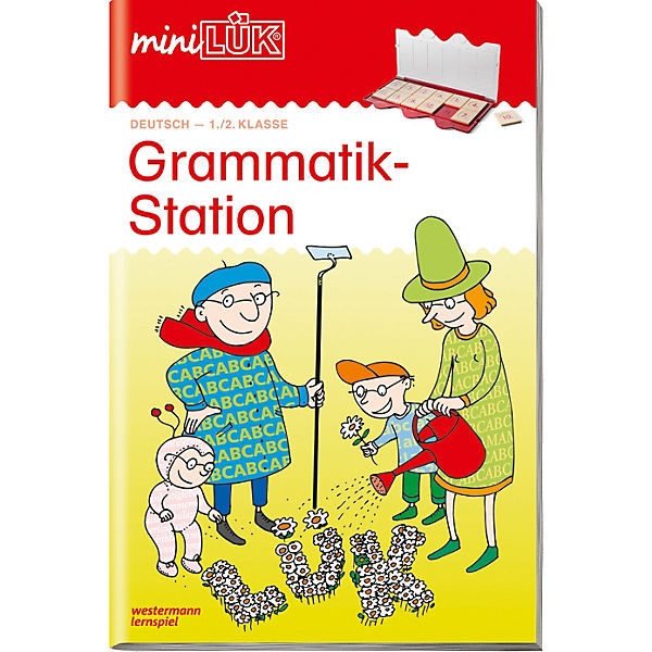 mini LÜK: Grammatikstation 1./2. Klasse, Übungsheft