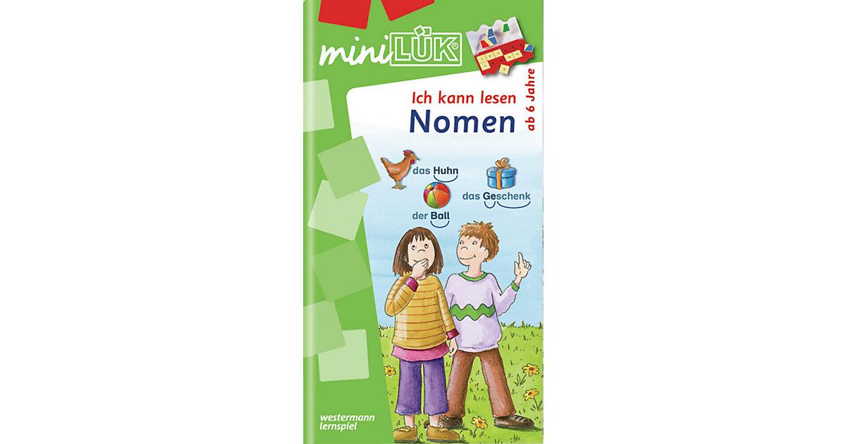 Buch - mini LÜK: Ich kann lesen - Nomen, 1. Klasse, Übungsheft