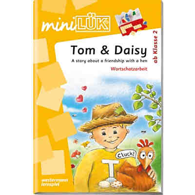 mini LÜK: Tom & Daisy: A story about a friendship with a hen, 2. Klasse, Übungsheft