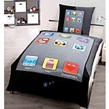Kinderbettwäsche Smartphone, Renforcé, 135 x 200 cm