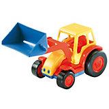 Wader Basics Traktor mit Schaufel, 22 cm