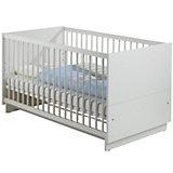Kinderbett FRESH, Weiß, 70 x 140 cm