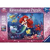 Puzzle 150 Teile - Disney Princess: Alle lieben Arielle