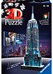 3D Gebäude Puzzle Empire State Building bei Nacht 216 Teile (mit LED Beleuchtung)