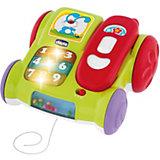 """Музыкальная игрушка """"Телефон с колесиками"""", Chicco"""