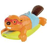"""Игрушка для ванной """"Бобер-серфингист"""", TOMY"""