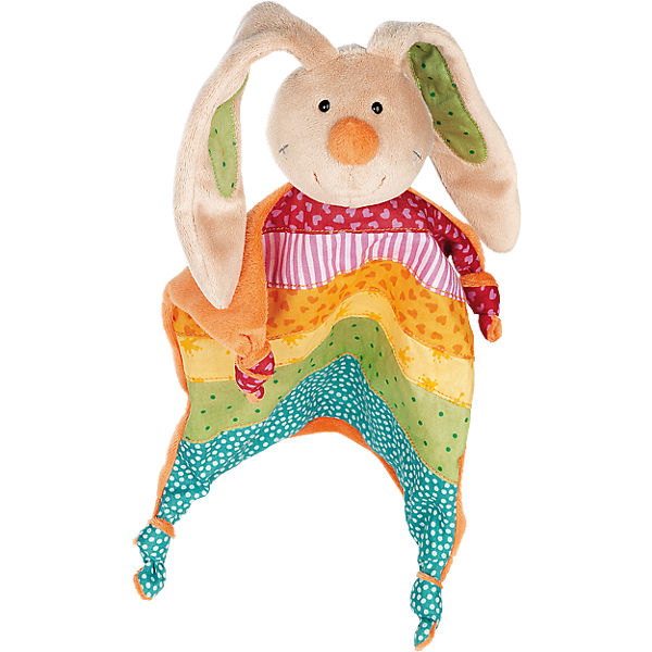 Rainbow Rabbit Schnuffeltuch