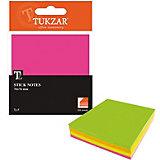 TUKZAR Блок с липким слоем: 4-х цветный, 200 л.