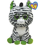 Beanie Baby Zebra ZigZag, 15 cm