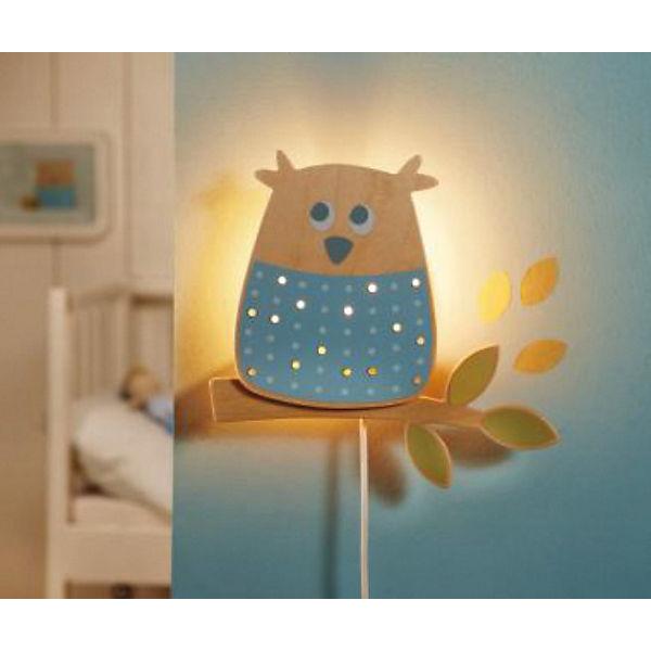Wandlampe schlummerlicht waldeule haba mytoys for Kinderzimmer wandlampe