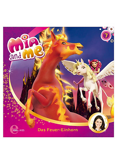 cd mia and me 7 das feuer einhorn edel germany gmbh mytoys. Black Bedroom Furniture Sets. Home Design Ideas