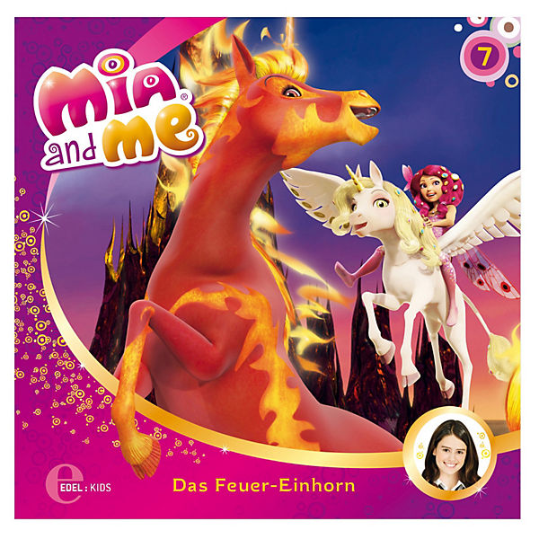 cd mia and me 7 das feuer einhorn mia me mytoys. Black Bedroom Furniture Sets. Home Design Ideas