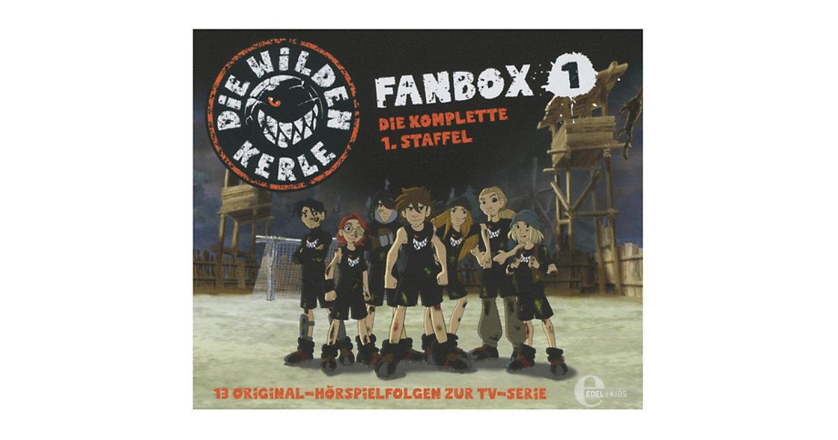 CD Die wilden Kerle - Season 1 - Fanbox 1 Hörbuch