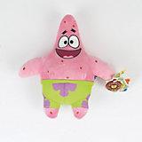 """Мягкая игрушка Патрик, со звуком, 24 см,  """"Губка Боб"""", МУЛЬТИ-ПУЛЬТИ"""