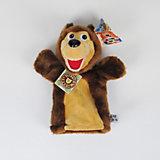 "Кукла на руку Медведь,  27 см, ""Маша и Медведь"", МУЛЬТИ-ПУЛЬТИ"