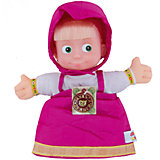 "Кукла на руку Маша, 27 см, ""Маша и Медведь"", МУЛЬТИ-ПУЛЬТИ"