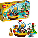 LEGO 10514 DUPLO Nimmerland Piraten: Piratenschiff Bucky