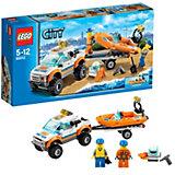 LEGO City 60012: Внедорожник и катер водолазов