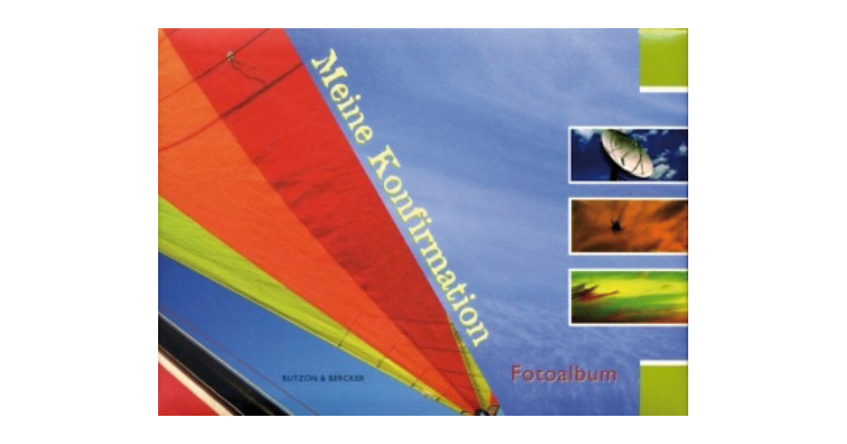 Buch - Meine Konfirmation, Fotoalbum