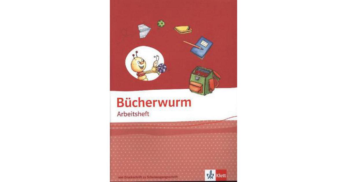 Bücherwurm Fibel, Allgemeine Ausgabe: Arbeitsheft von der Druckschrift zur SAS