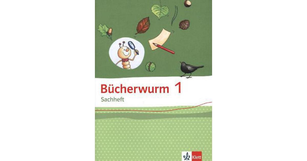Bücherwurm Sachheft, Ausgabe Brandenburg, Sachen-Anhalt und Thüringen: 1. Schuljahr, Arbeitsheft