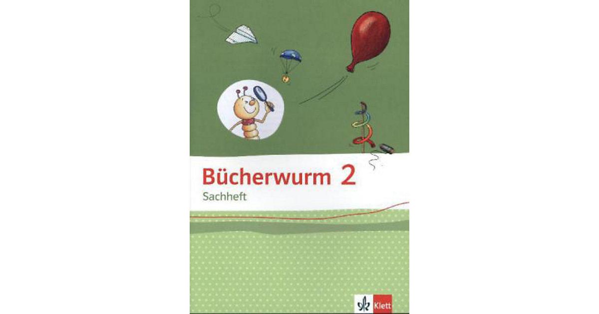 Bücherwurm Sachheft, Ausgabe Brandenburg, Sachen-Anhalt und Thüringen: 2. Schuljahr, Arbeitsheft