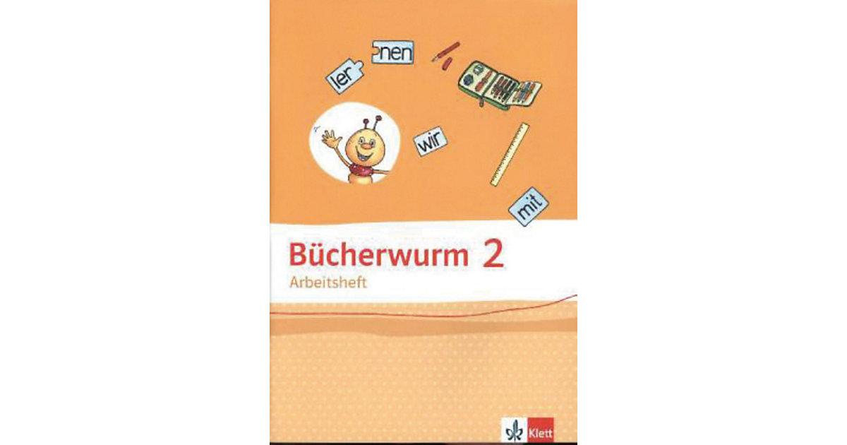 Bücherwurm Sprachbuch, Allgemeine Ausgabe: 2. Schuljahr, Arbeitsheft