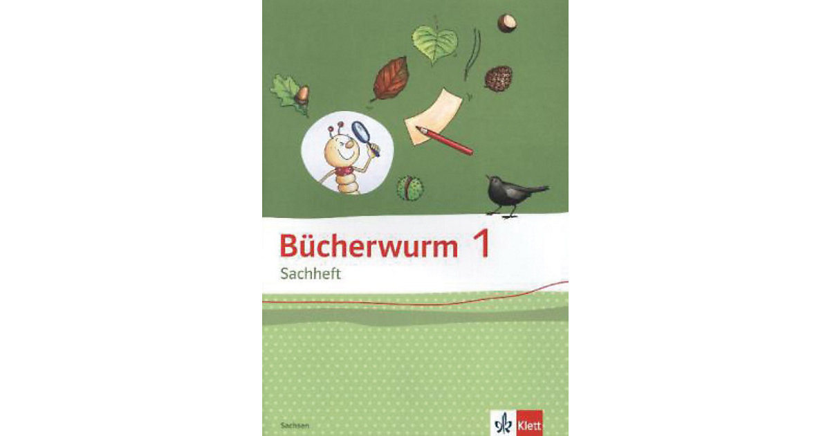 Bücherwurm Sprachbuch, Ausgabe Sachsen: 1. Schuljahr, Arbeitsheft