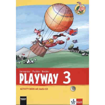 Playway ab Klasse 3 (Ausgabe 2013): 3. Schuljahr, Activity Book m. Audio-CD