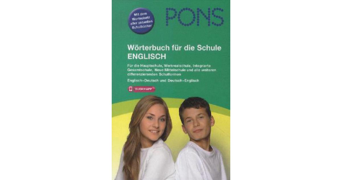 PONS Wörterbuch die Schule Englisch Kinder