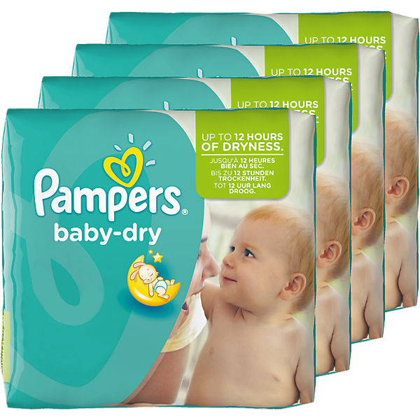 1x152 Stück PAMPERS Baby Dry Gr.4+ Maxi Plus 9-20kg Monatspack