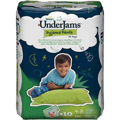 1x10 Stück PAMPERS UnderJams Boy S/M 17-29kg