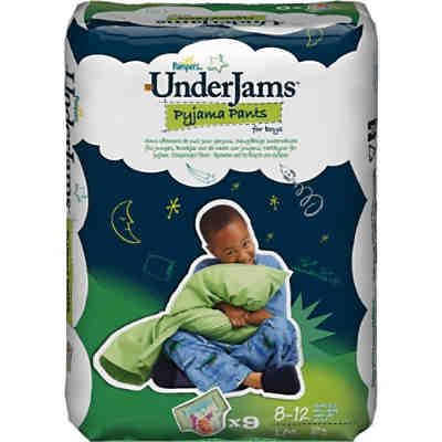 1x9 Stück PAMPERS UnderJams  Boy L/XL 27+kg
