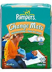 PAMPERS Change Mats, 12 Stück